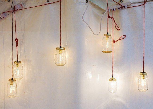 Series of hanging lights