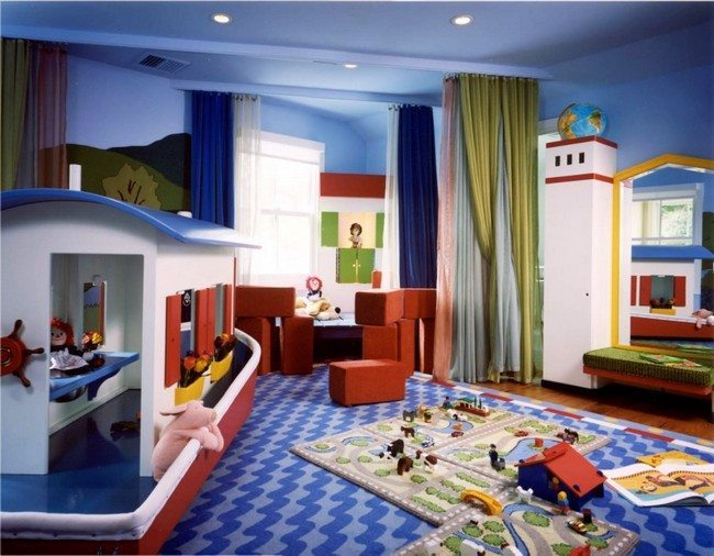 Bold And Elegant Accessories. Customized Design. Simple Playroom