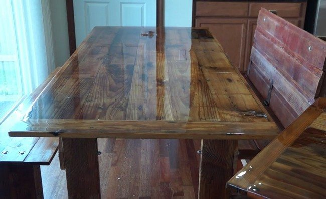 Well-crafted table
