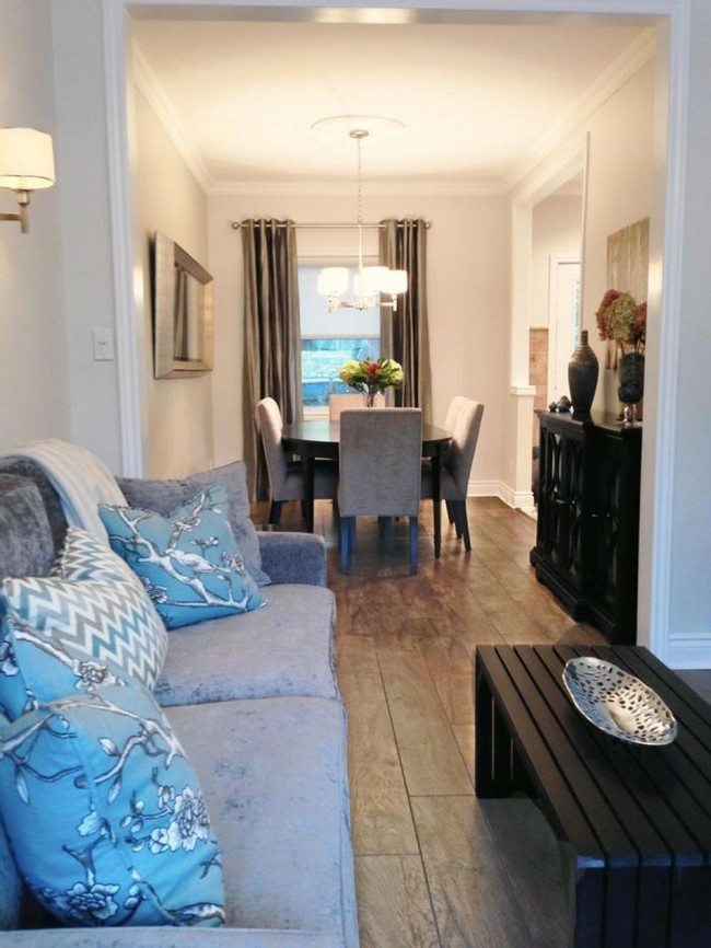 How to decorate a long narrow living room dining combo for Kenyan living room designs