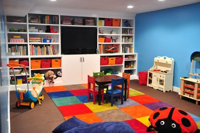 Fun And Colorful Designs For Your Children S Playroom