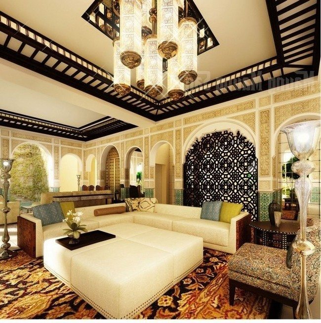 Moroccan Living Room Decor Decor Around The World
