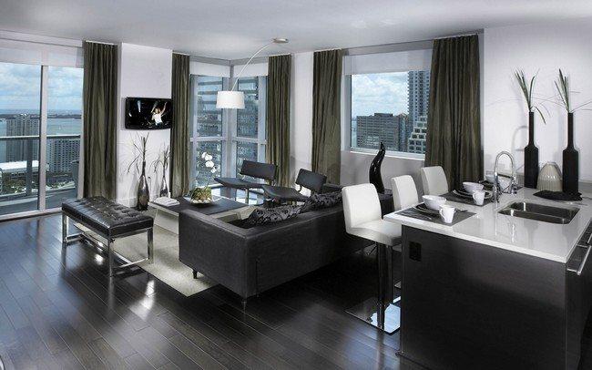 Minimalist modern apartment