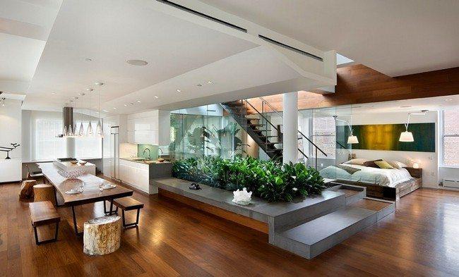 Indoor hedge