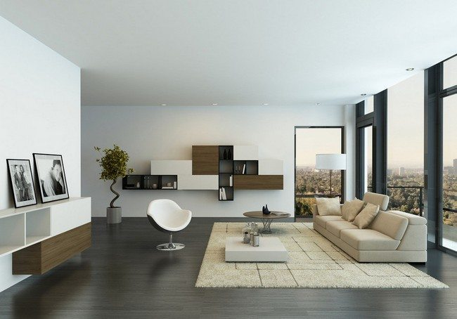 Zen Living Room Furniture Living Room With Large Windows Zen