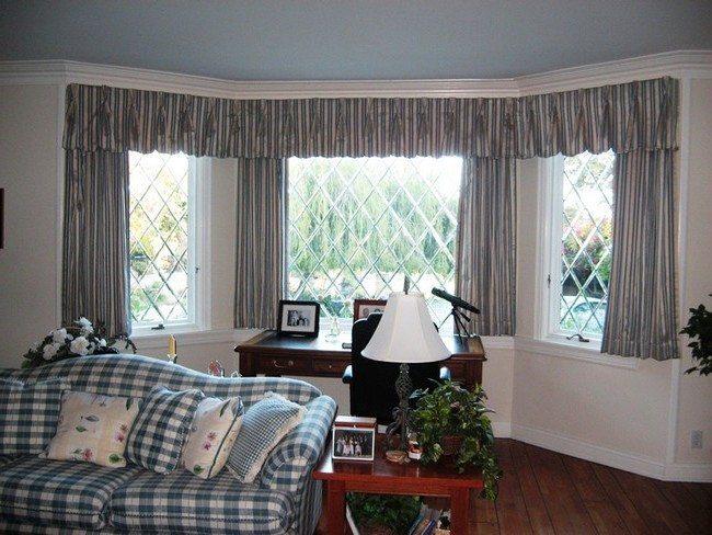 inspiring living room window treatment ideas | Bay Window Design Creativity - Decor Around The World