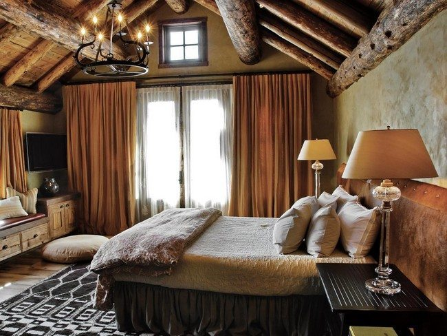 Rustic Bedroom Decorating Style Decor Around The World