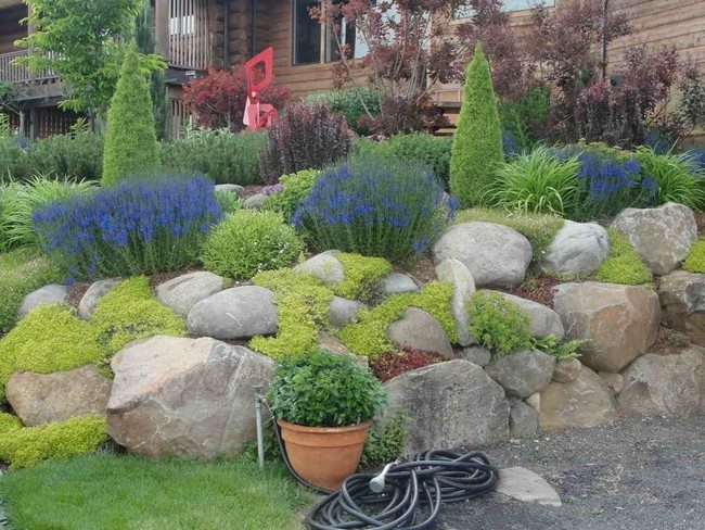 Rock garden inspiration ideas decor around the world for Garden landscaping ideas for large gardens
