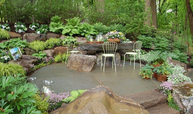 Simple, beautiful garden