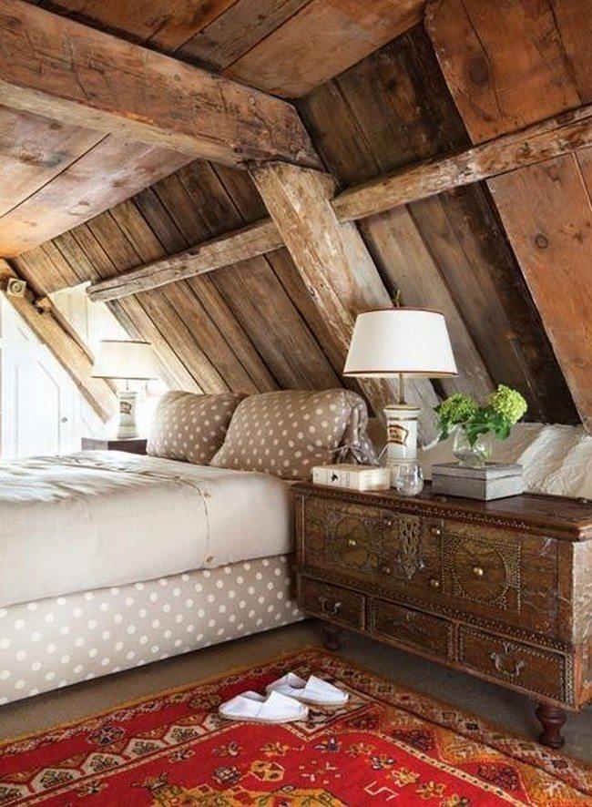 Rustic Bedroom Decorating Style - Decor Around The World