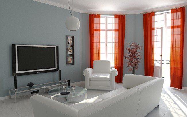 Bright drapes