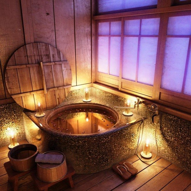 Rustic bathroom inspiration decor around the world