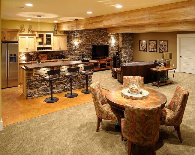 Home bar room designs decor around the world for Bar ideas for living room