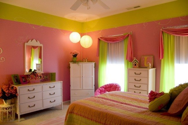 Bedroom Decorating Ideas Using Green