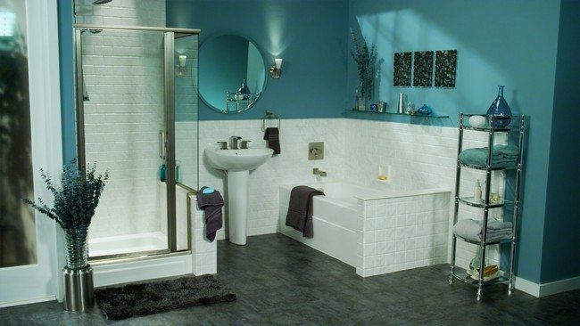 white and teal bathroom vintage inspired bathroom decor around the world 21396
