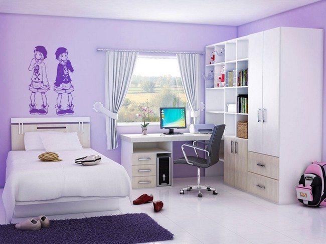 Girls\' Bedroom Style - Decor Around The World