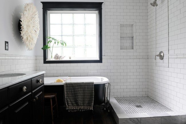 Bathroom Tile Ideas Vintage vintage - inspired bathroom - decor around the world