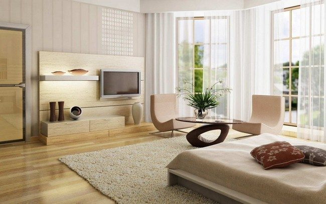 Living room with minimum furniture. Zen design style ... & Zen Living Room Design Modern Ideas - Decor Around The World