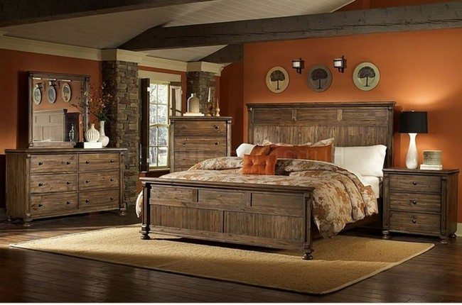 Rustic Bedroom Decorating Style Decor Around The World