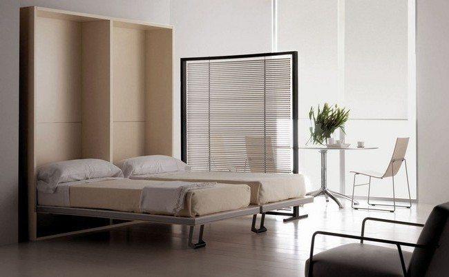 Window with horizontal paneling