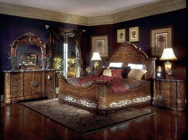 Shining bedrooms