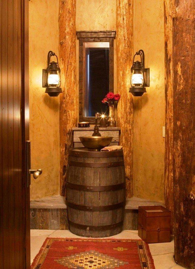 Vintage - Inspired Bathroom - Decor Around The World