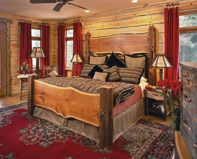 Rustic bedroom decorating style decor around the world for Cowgirl bedroom ideas
