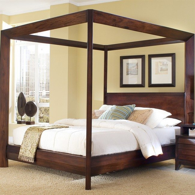 How To Use A Four Poster Bed Canopy To Good Effect: Transforming Your Bedroom Using Luxury Canopy Beds