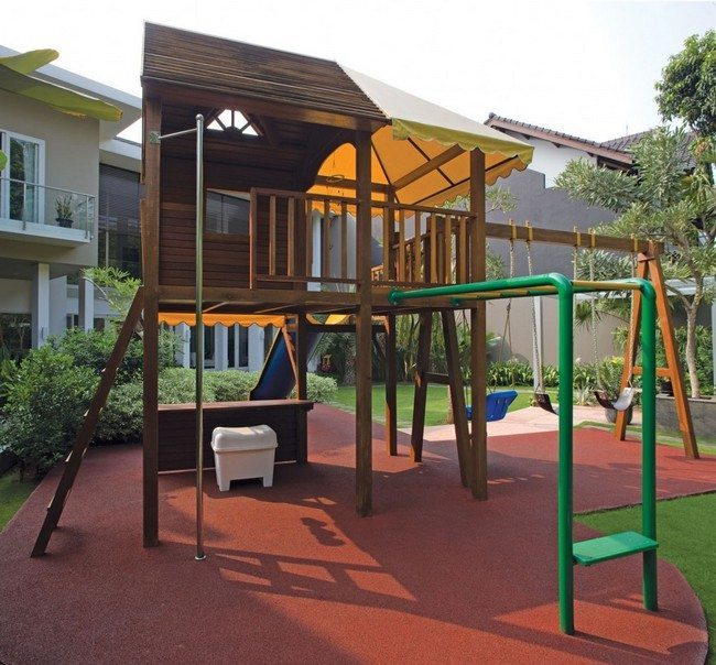 Creating the perfect outdoor environment for your kids for Small backyard ideas for kids