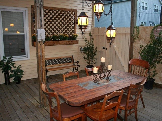 Exotic outdoor lighting