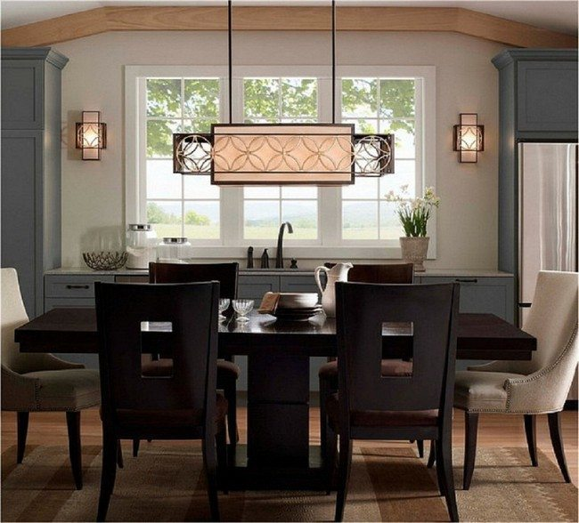 ideas for kitchen table light fixtures - decor around the world