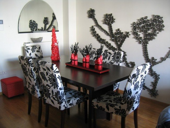 D cor for formal dining room designs decor around the world for Formal dining table centerpiece ideas