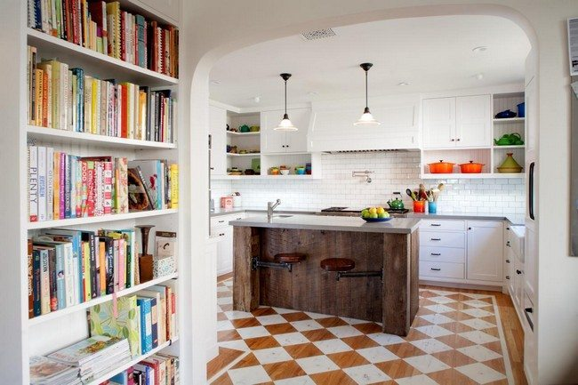 Countertop Cookbook Shelf- A Simple Yet Elegant Way To