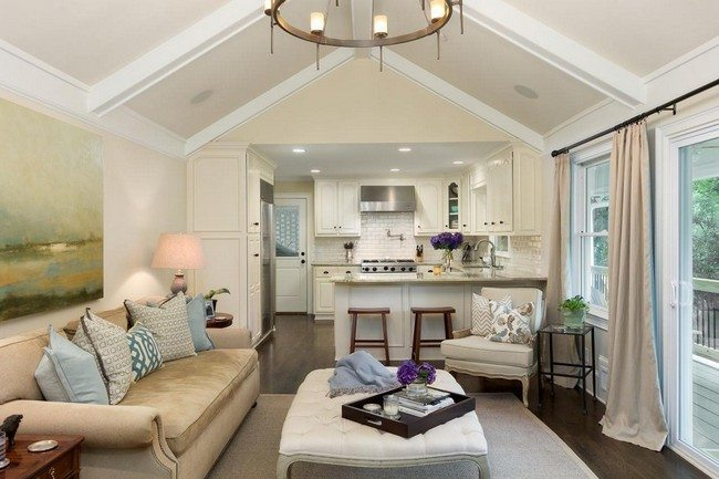Inspiration 21 Family Room Andkitchen Decorating Ideas