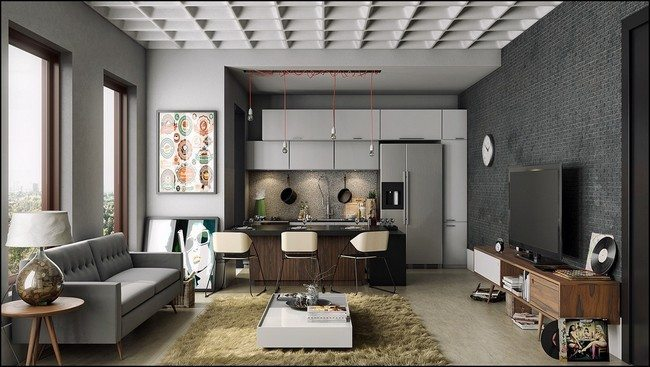 Ways to Decorate Grey Living Rooms - Decor Around The World