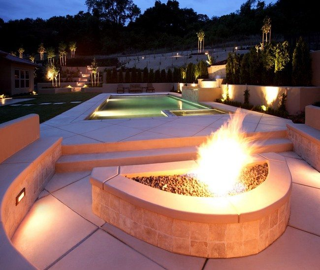 Backyard Fire Pit Designs outdoor fire pit plans outdoor fire pits a perfect way to enjoy your garden Contemporary Fire Pit