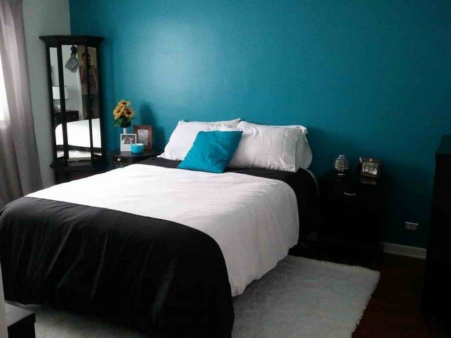 Decorating White And Blue Bedrooms Decor Around The World