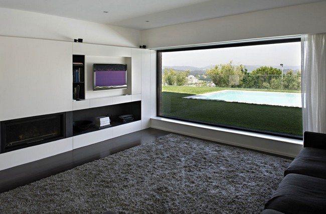 Cozy grey rug