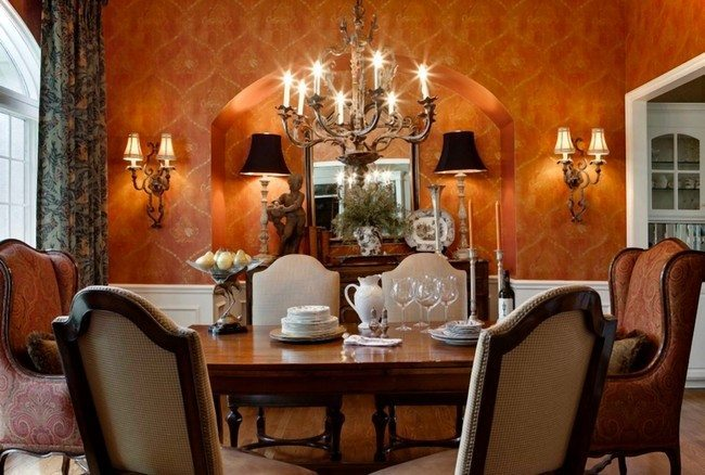 D cor for formal dining room designs decor around the world for Small formal dining room decorating ideas