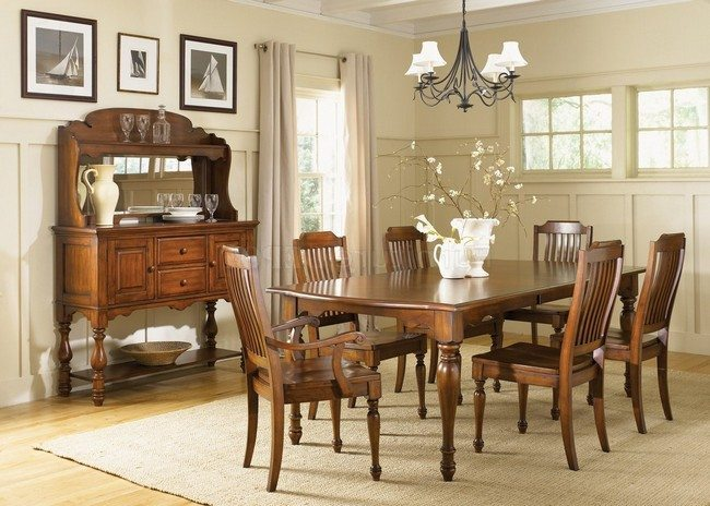 Décor For Formal Dining Room Designs