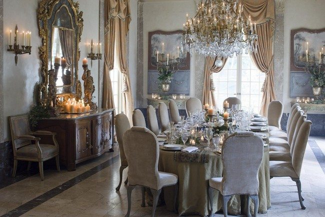 D cor for Formal Dining Room Designs