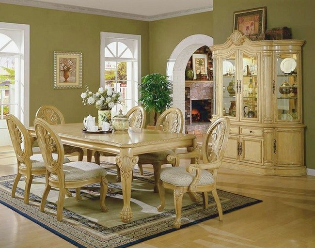 D cor for formal dining room designs decor around the world for Formal dining room color ideas