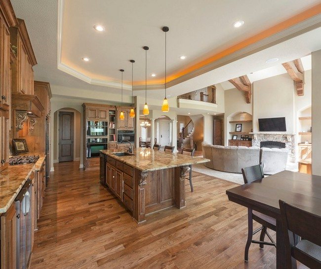 Kitchen Remodel With Open Concept Family Room: Creative Plans For The Open Concept Kitchen