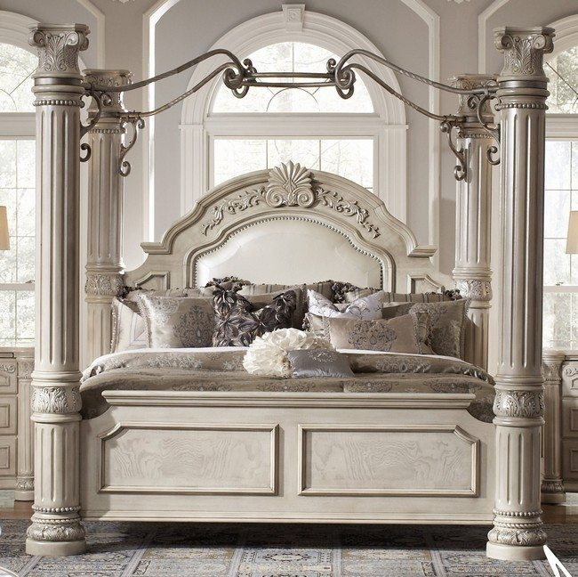 loft bedroom decorating ideas - Transforming your Bedroom Using Luxury Canopy Beds Decor