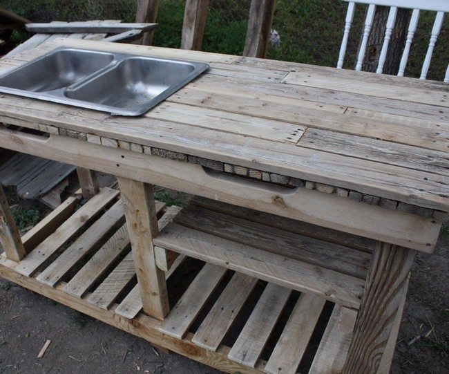 Tips for making your own outdoor furniture decor around the world - Pallet outdoor furniture instructions ...