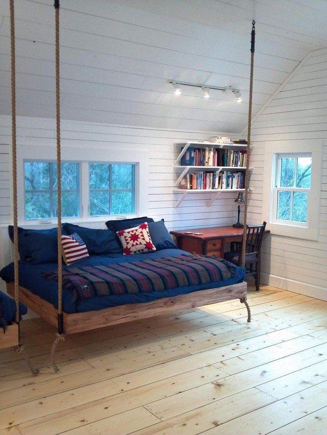 Neatly arranged bookshelf