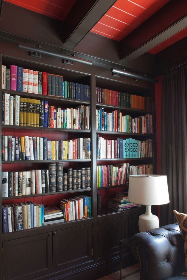 Stunning ways to Decorate your Interior Using a Home Library ...