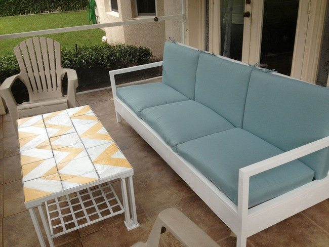 Diy making your own pallet patio furniture decor around Diy outdoor furniture