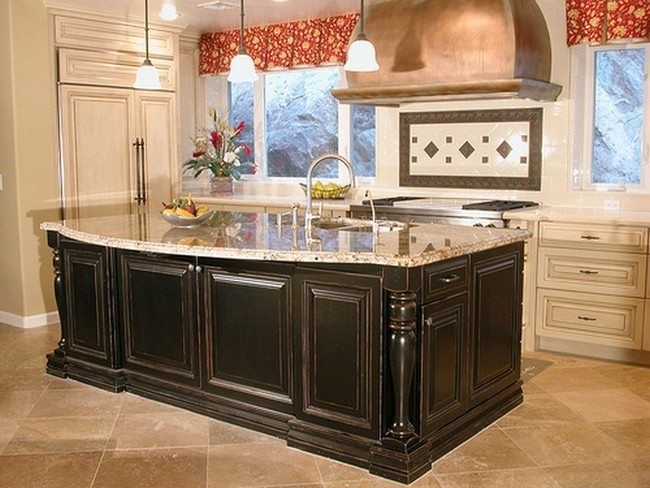 French country kitchen d cor decor around the world for Country kitchens south africa