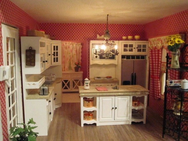 french country kitchen wallpaper country kitchen d 233 cor decor around the world 3632